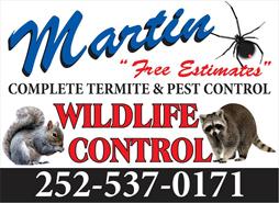 Lake Gaston pest control by Martin Exterminating